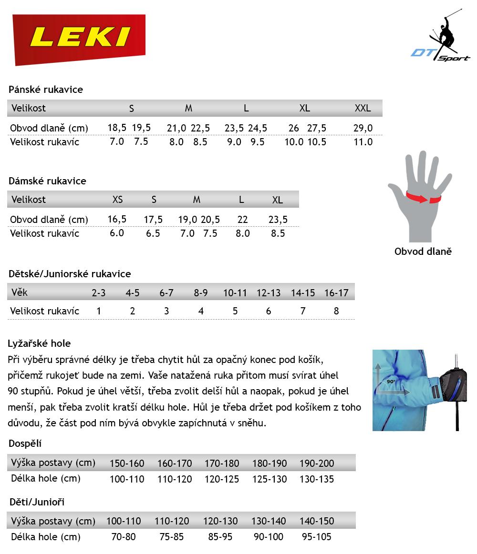 Sjezdové rukavice LEKI Griffin Pro Lady S white-red fc07214705