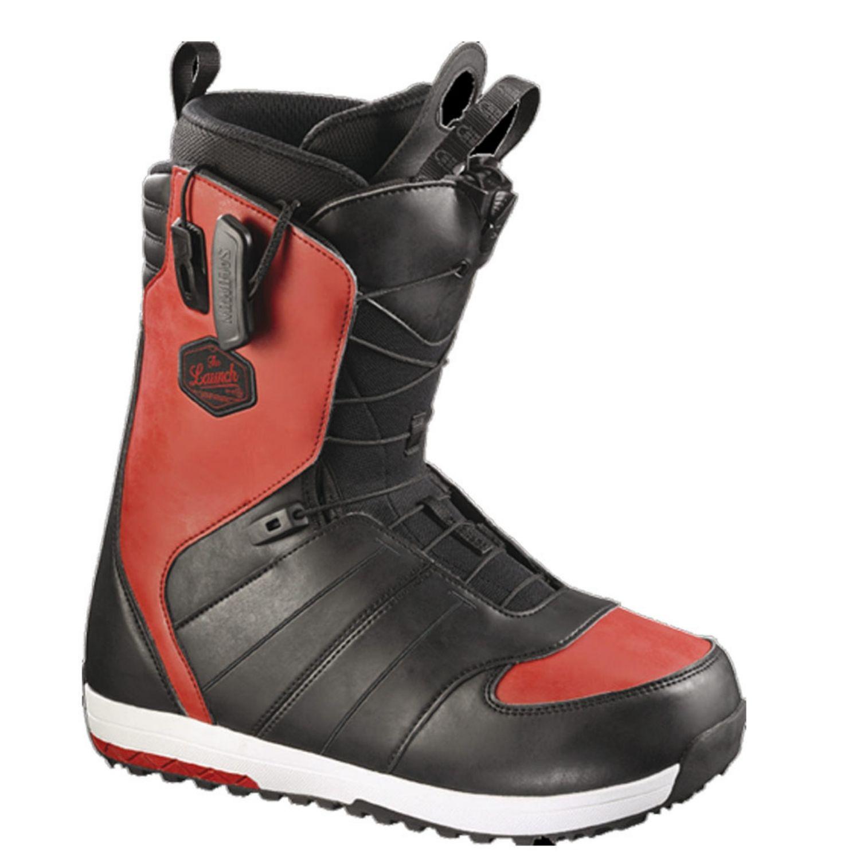 Snowboardová obuv SALOMON Launch Black/Red Čierno-červená 29.0