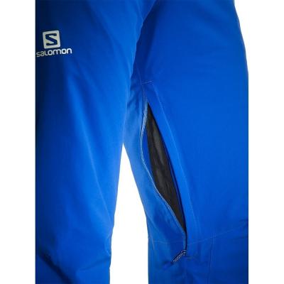 Lyžiarske nohavice SALOMON Iceglory Pant M Blue Yonder