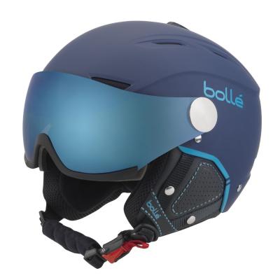 BOLLÉ Backline Visor Premium Soft Navy & Cyan Grey Blue
