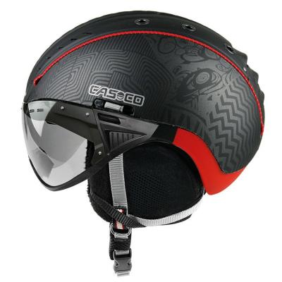 CASCO SP-2 Snowball Visor black-red