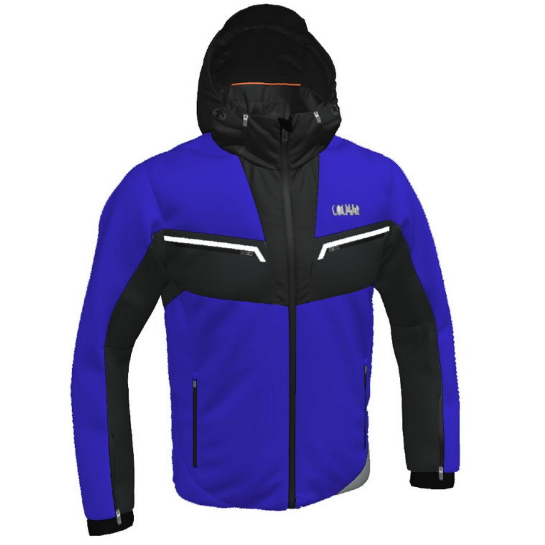 Pánska lyžiarska bunda COLMAR Golden Eagle blue/grey Tmavomodrá L