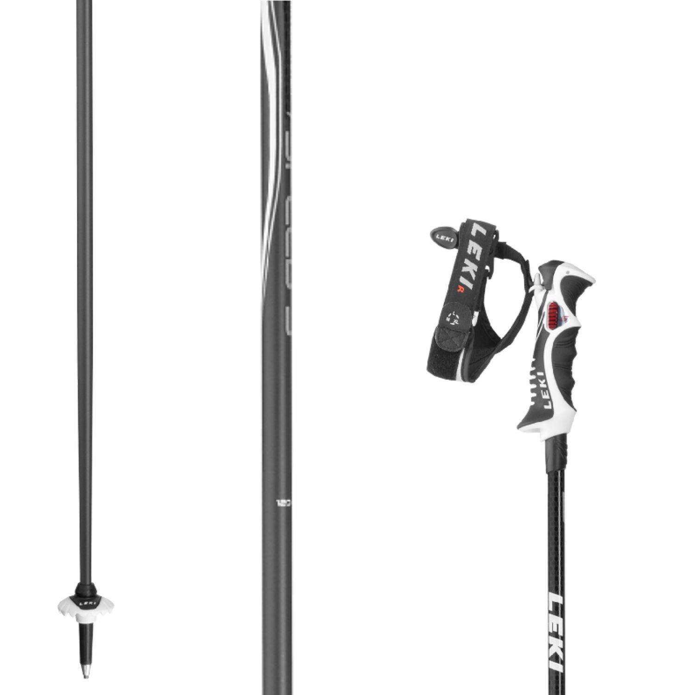 LEKI Speed S black/white 120 cm