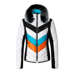 Bunda SPORTALM Rubia Ice s kapucňou z pravej kožušiny