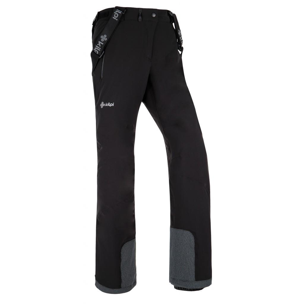 33238e5755da Dámske lyžiarske nohavice Kilpi Europa-W Čierna 3XL