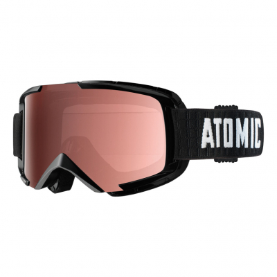 Lyžiarske okuliare ATOMIC SAVOR black S2