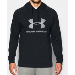 Pánska mikina s kapucňou UNDER ARMOUR Sportstyle Fleece Black