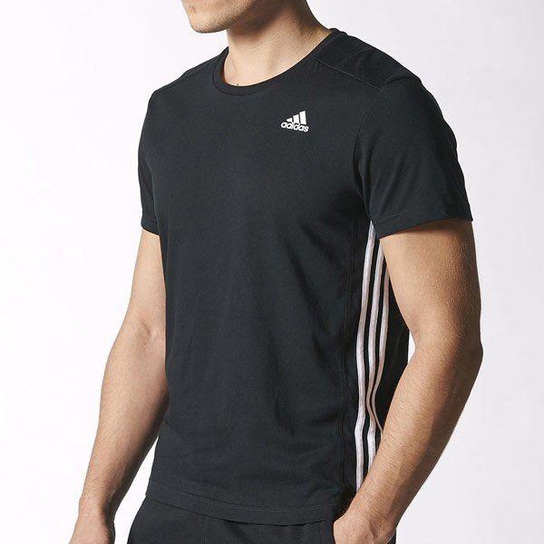 Tričko ADIDAS ESS 3S Black Čierna S