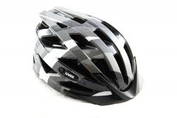 Cyklistická prilba UVEX Air Wing Dark Silver/Black