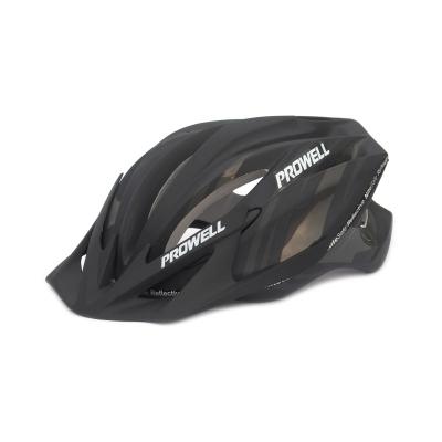 Cyklistická prilba PROWELL F-4000R čierna-matná