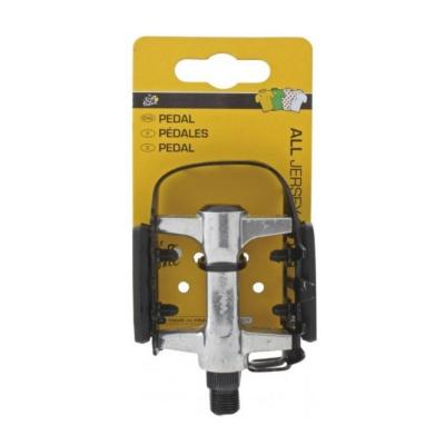 Pedále Tour de France MTB Dural s klietkou