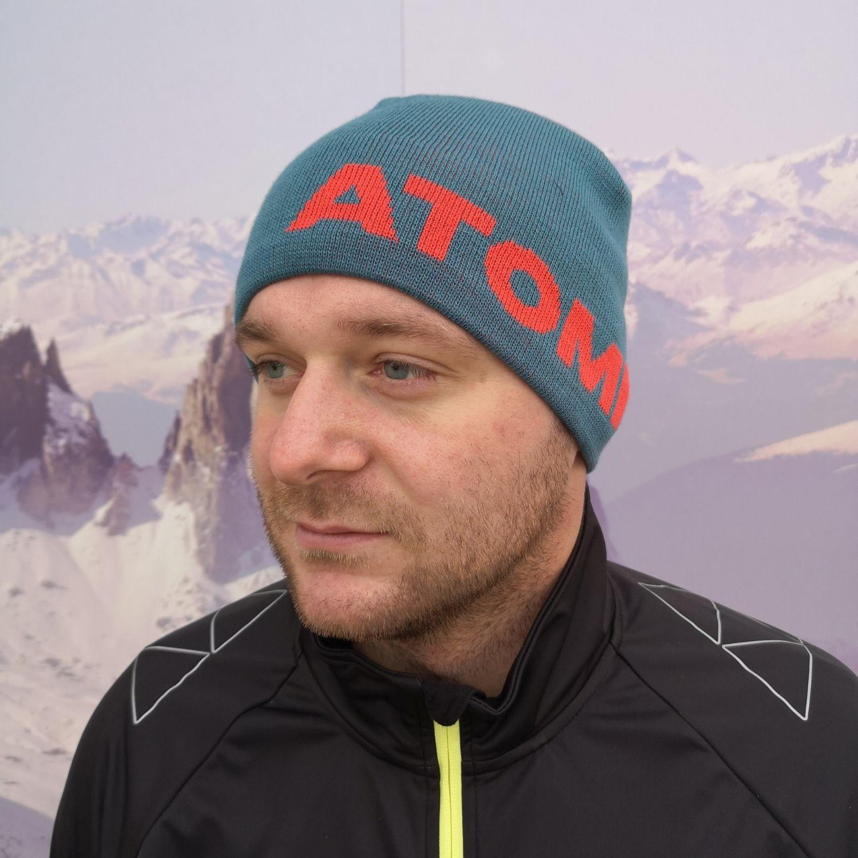 Čiapka ATOMIC Alps Beanie Modrá