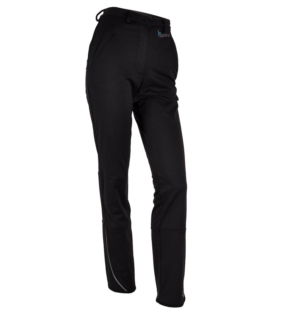 Zateplené nohavice SILVINI Borgo WP325 Čierna S
