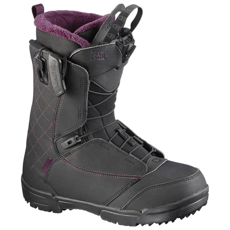 Snowboardová obuv SALOMON Pearl Čierna 25.5