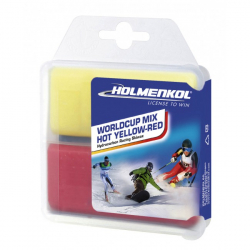 Vosk HOLMENKOL Worldcup Mix HOT YELLOW-RED 2x 35g