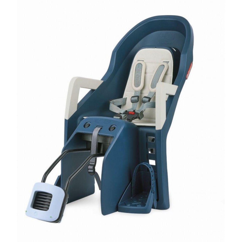 Detská sedačka POLISPORT Guppy RS na sedlovú trubku Modrá
