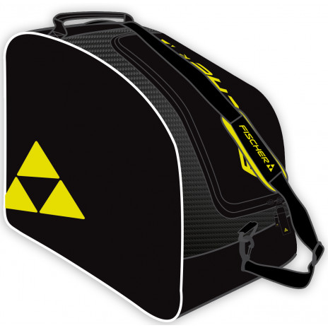 Vak na lyžiarky a prilbu FISCHER Boot + Helmet Bag Alpine Eco Čierno-žltá