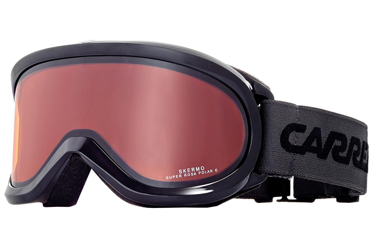 Lyžiarske okuliare CARRERA Skermo OTG - 17 18 Čierno-ružová UNI f0b845c8554