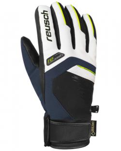 Lyžiarske rukavice REUSCH Beat GTX Blue / White - 18/19