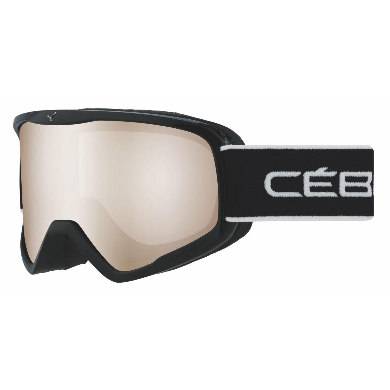 Lyžiarske okuliare CÉBÉ Striker L Black - Fotochromatické Normálna veľkosť