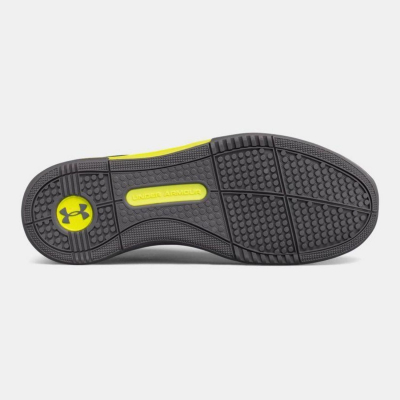 UNDER ARMOUR Charged Legend Training Shoes Black/Yellow