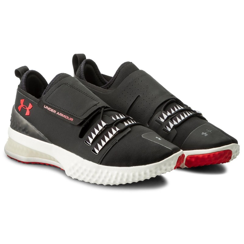 Pánska obuv UNDER ARMOUR x Muhammad Ali Architech 3Di Training Shoes Black Čierno-červená 43