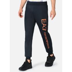 Tepláky EMPORIO ARMANI EA7 Man Jersey Trousers - tmavomodré