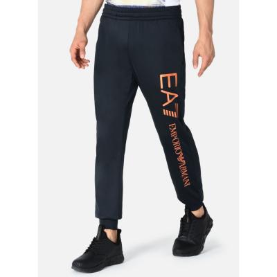EMPORIO ARMANI EA7 Man Jersey Trousers - tmavomodré