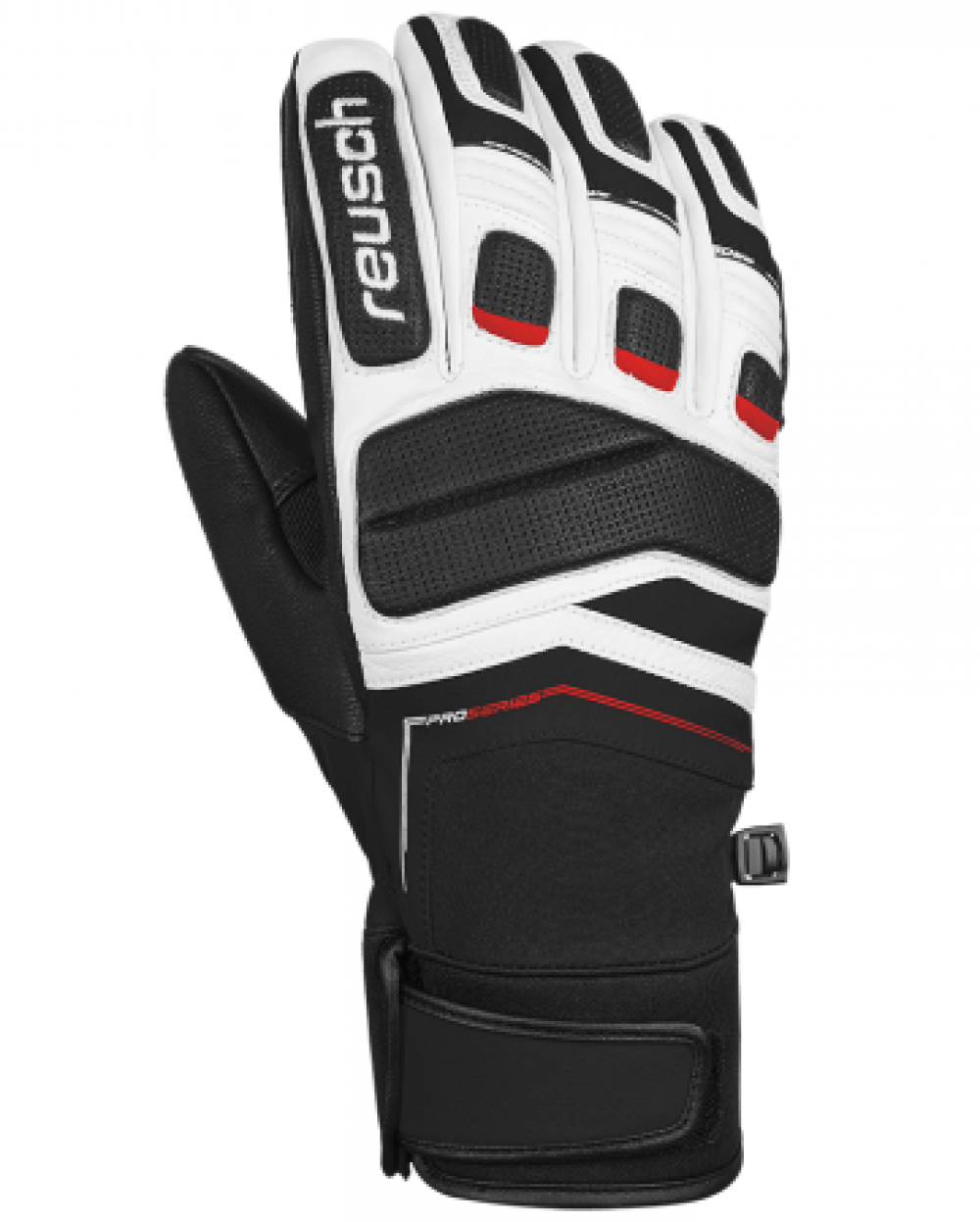 f3b6e388e Lyžiarske rukavice REUSCH Profi SL Black / White - 18/19