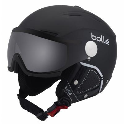 BOLLÉ Backline Visor Premium Soft Black & White Modulator