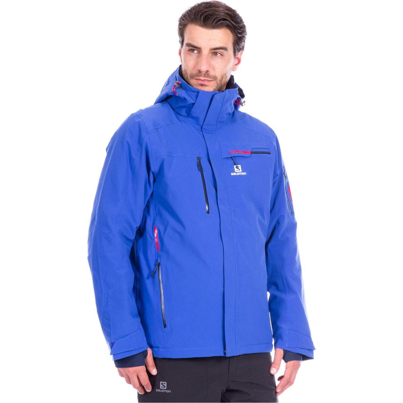 Lyžiarska bunda SALOMON Brilliant Jkt M Blue Modrá XXL