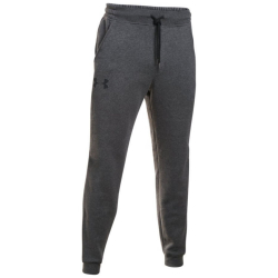 Tepláky UNDER ARMOUR Rival Cotton Jogger šedé