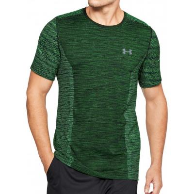Tričko UNDER ARMOUR Threadborne Seamless Green