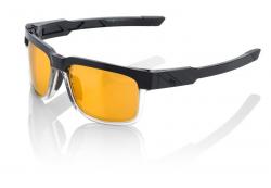 Okuliare 100% Type S Licorice Gold Mirror Lens