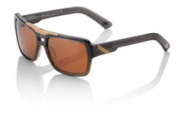 Okuliare 100% Burgett Carbon Fade Dark Bronze Lens