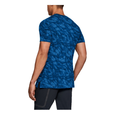 UNDER ARMOUR Sportstyle Printed SS Blue