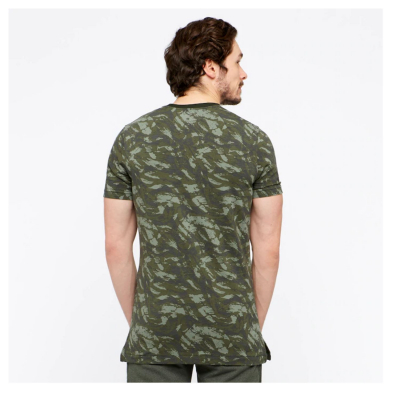 UNDER ARMOUR Sportstyle Printed SS Green