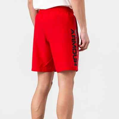 UNDER ARMOUR Woven Graphic Wordmark Short Red