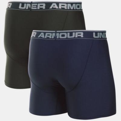 """Boxerky UNDER ARMOUR Original Series 6"""" Boxerjock 2-Pack modré/čierne"""