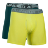 "UNDER ARMOUR Original Series 6"" Boxerjock 2-Pack Yellow + Green"