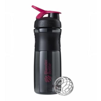 Športová fľaša Blender Bottle SportMixer Grip Black/Pink 820 ml