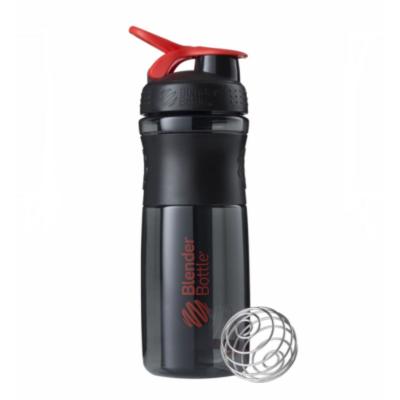 Športová fľaša Blender Bottle SportMixer Grip Black/Red 820 ml