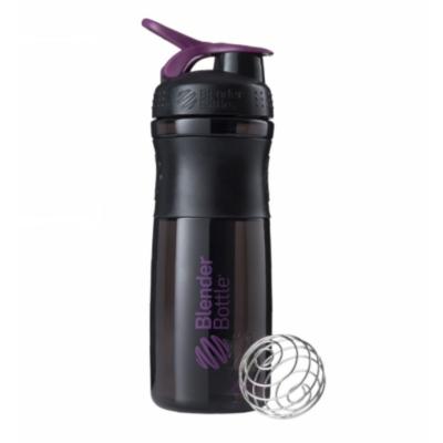 Športová fľaša Blender Bottle SportMixer Grip Black/Plum 820 ml