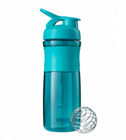 Športová fľaša Blender Bottle SportMixer Grip Teal 820 ml