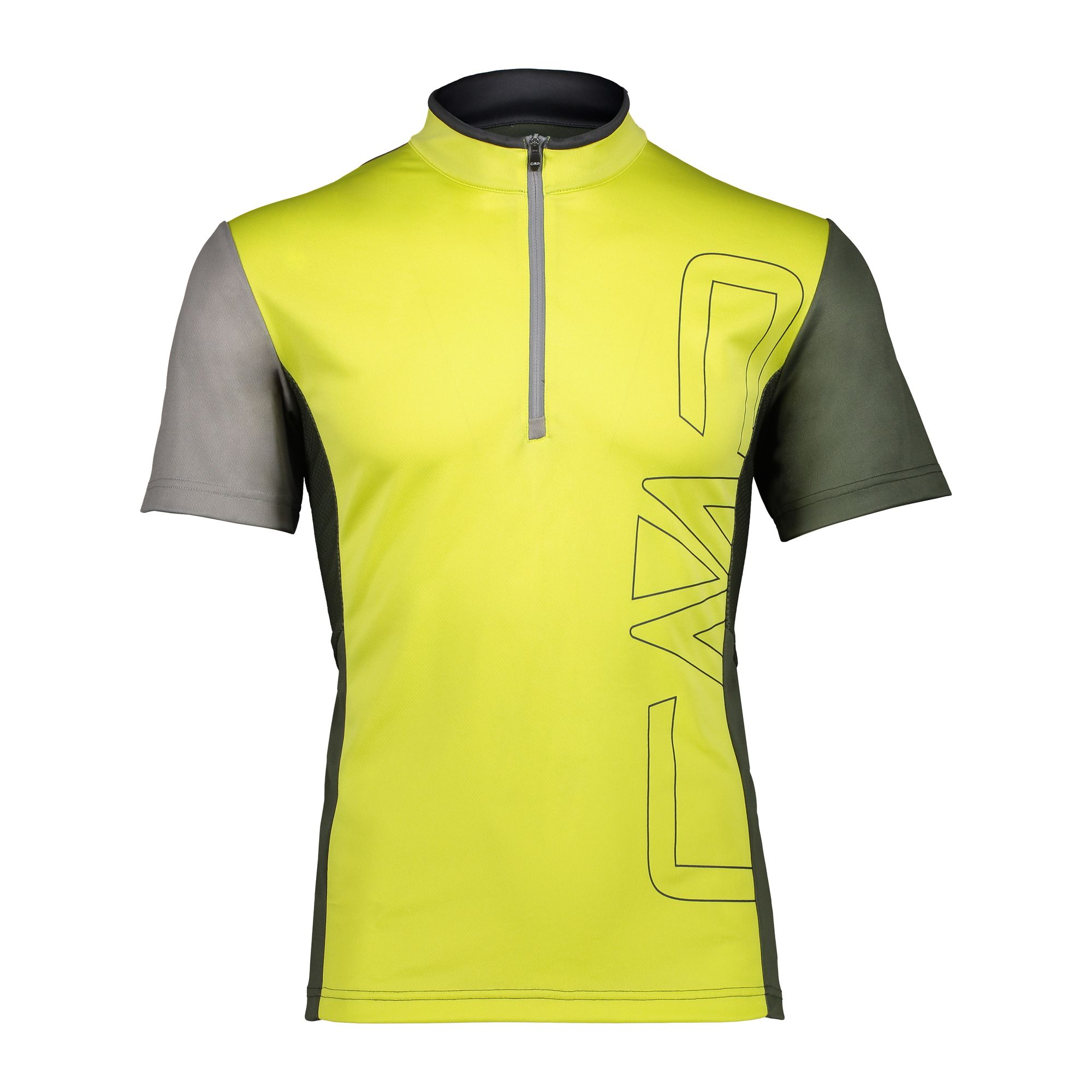 Pánske cyklistické tričko CAMPAGNOLO Free Bike Yellow Žltá 56