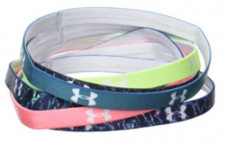 Dámske čelenky UNDER ARMOUR Mini Graphic Headbands (6pk)