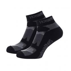 Ponožky HORSEFEATHERS Jett black camo