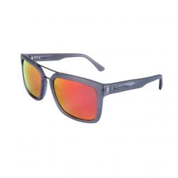 Sluneční brýle HORSEFEATHERS Cartel matt gray/mirror red