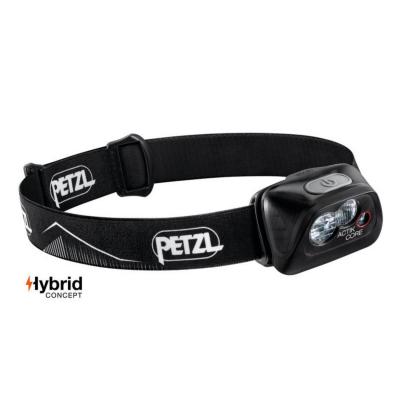 Čelovka PETZL Actik Core Black