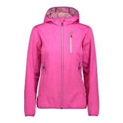 Športová bunda CAMPAGNOLO Woman Fix Hood Pink